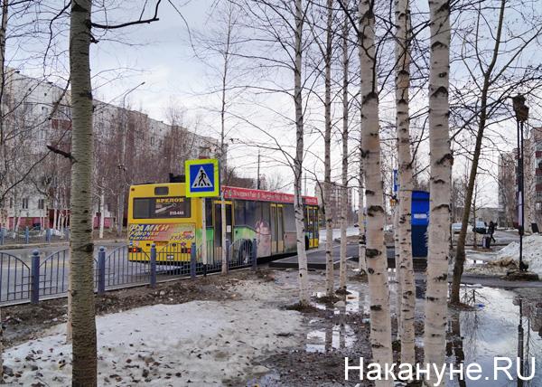 Проезд в Нефтеюганске|Фото: Накануне.RU