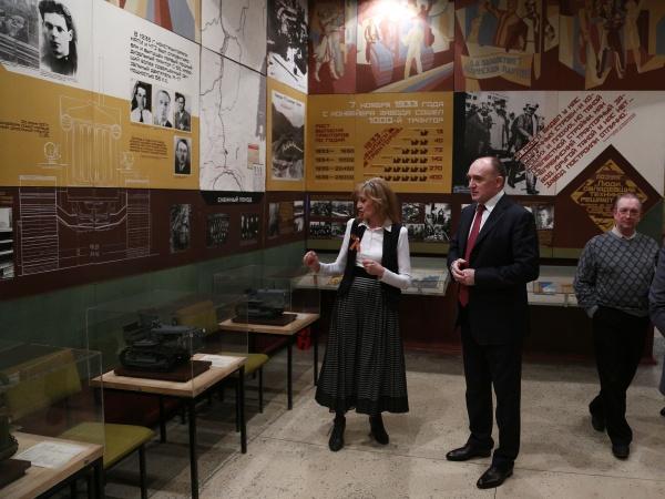 дубровский, музей, чтз|Фото:пресс-служба губернатора челябинской области