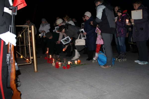Митинг памяти по погибшим в Одессе, Нижневартовск|Фото:vk.com
