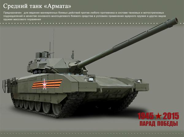 "средний танк ""Армата""|Фото: Министерство обороны РФ"