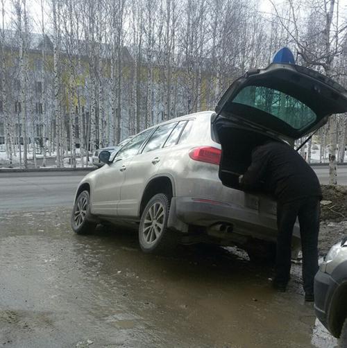 ремонт дорог в Нефтеюганске Фото: vk.com