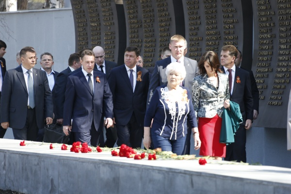 Открытие Широкореченского мемориала, Широкореченское кладбище|Фото: Департамент информационной политики губернатора Свердловской области
