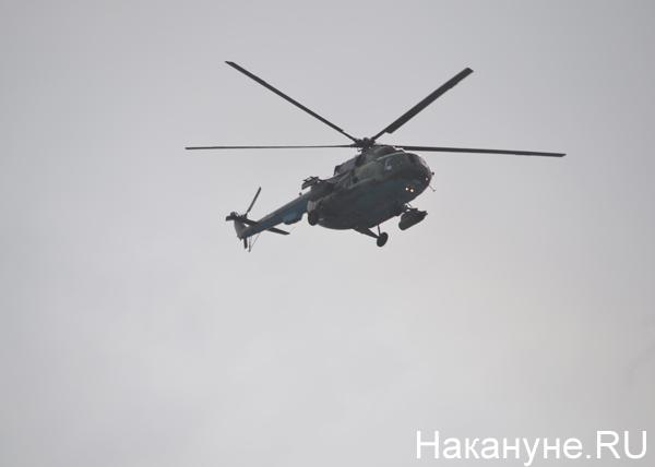 репетиция авиапарада, вертолет|Фото: Накануне.RU