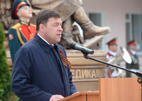 памятник военным медикам, Куйвашев|Фото: ДИП