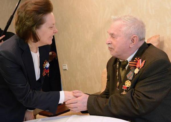 Наталья Комарова, ветеран, Дмитрий Мельников, Нягань|Фото: admhmao.ru