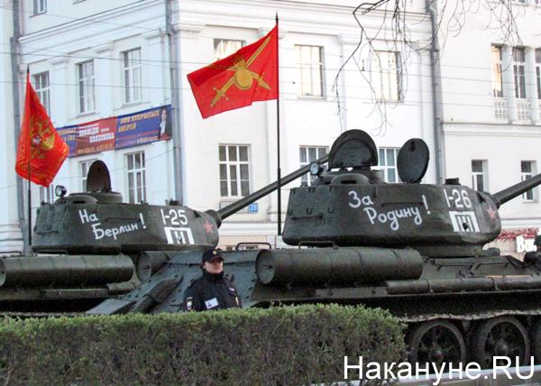 Репетиция Парада Победы, Т-34|Фото: Накануне.RU