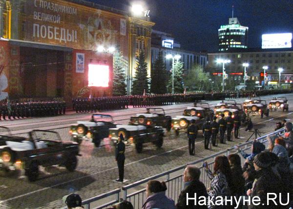 Репетиция Парада Победы, ВАЗ, ветераны|Фото: Накануне.RU