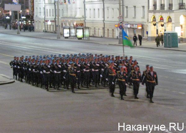 Репетиция Парада Победы, десантники|Фото: Накануне.RU