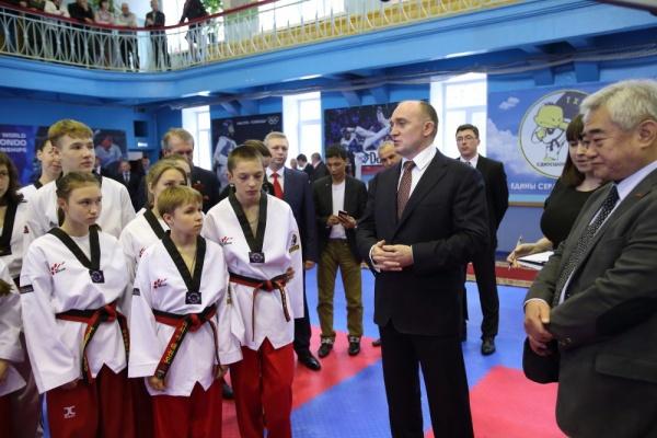 Борис Дубровский тхэквондо|Фото: gubernator74.ru