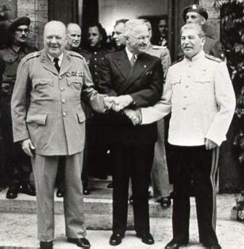 Иосиф Сталин, Франклин Делано Рузвельт, Уинстон Черчилль(2015)|Фото: zoroastrian.ru