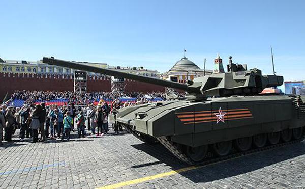 Танк Т-14 «Армата»|Фото: Олег Яковлев/РБК