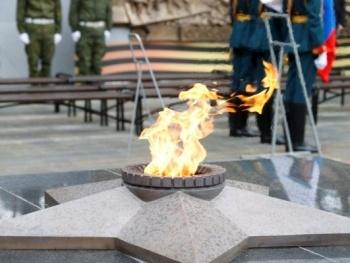 вечный огонь, екатеринбург|Фото:пресс-служба губернатора Свердловской области