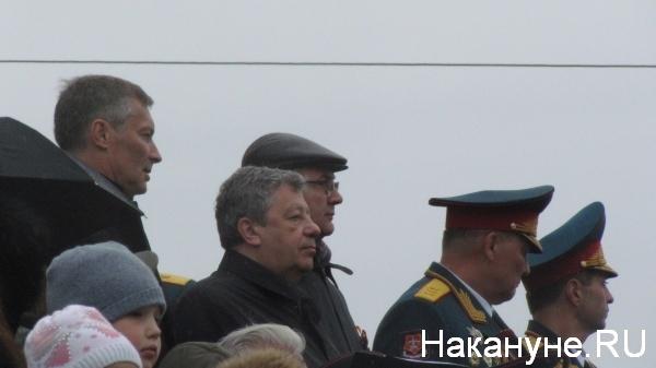Парад, 9 мая, Екатеринбург, Ройзман, Чернецкий, Якоб|Фото:Накануне.RU