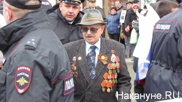 Парад, 9 мая, Екатеринбург, ветеран|Фото:Накануне.RU