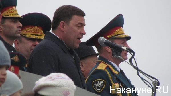 Парад, 9 мая, Екатеринбург, Куйвашев|Фото:Накануне.RU