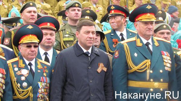 Парад, 9 мая, Екатеринбург, Куйвашев|Фото: Накануне.RU