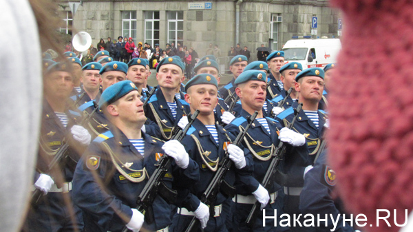 Парад, 9 мая, Екатеринбург, ВДВ|Фото: Накануне.RU