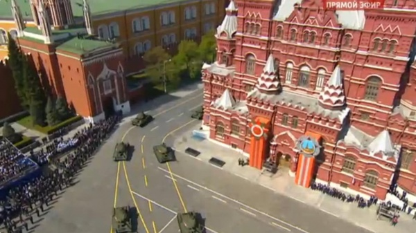 танки, Красная площадь, парад|Фото: