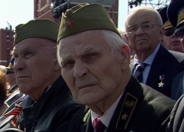 Парад, 9 мая, Красная площадь, ветеран|Фото: