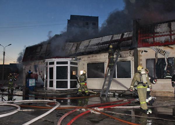 пресс-служба Надымского гарнизона пожарной охраны Фото: пресс-служба Надымского гарнизона пожарной охраны
