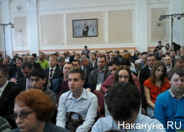 Антикоррупционный форум ОНФ УрФО, Николай второй|Фото: Накануне.RU