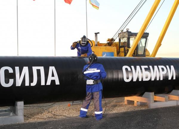 сила сибири, газпром, трубопровод, поставки, газовики, сварка|Фото: пресс-службе Газпрома