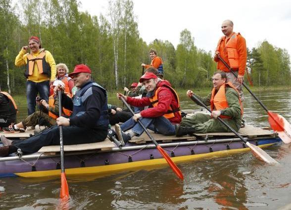 сплав, Чусовая|Фото: департамент информационной политики губернатора Свердловской области
