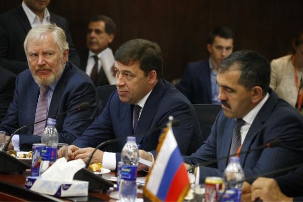Евгений Куйвашев, поездка в Египет Фото: Департамент информационной политики губернатора Свердловской области