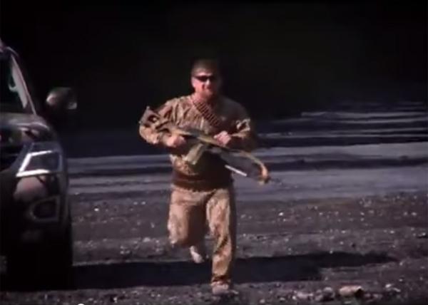рамзан кадыров, кино, пулемет|Фото: youtube.com