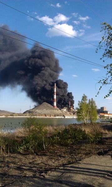 Карабашмедь цех пожар|Фото: 74koleso.livejournal.com