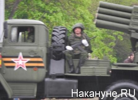 Военный парад, Донецк|Фото: Накануне.RU