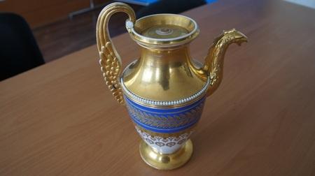 фарфоровый кофейник, фарфор Фото: ГУ МВД России по Свердловской области