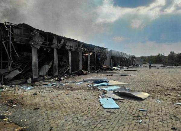 Марьинка, разрушения, обстрел|Фото: Джон Траст