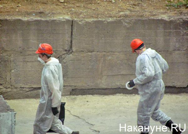 Открытая станция, 45 лет рефтинской ГРЭС, рабочие|Фото: Накануне.RU