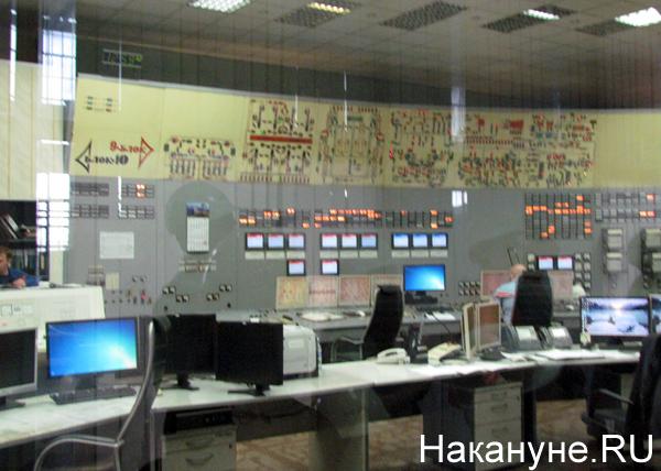 Открытая станция, 45 лет рефтинской ГРЭС, пункт управления|Фото: Накануне.RU