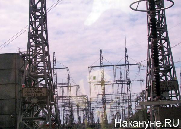 Открытая станция, 45 лет рефтинской ГРЭС, ЛЭП|Фото: Накануне.RU