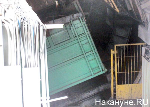 Открытая станция, 45 лет рефтинской ГРЭС, уголь, вагон|Фото: Накануне.RU