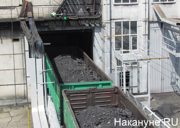 Рефтинская ГРЭС, уголь, вагон|Фото: Накануне.RU