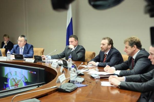 Игорь Холманских, встреча с губернатором Свердловской области Фото: Департамент информационной политики губернатора Свердловской области
