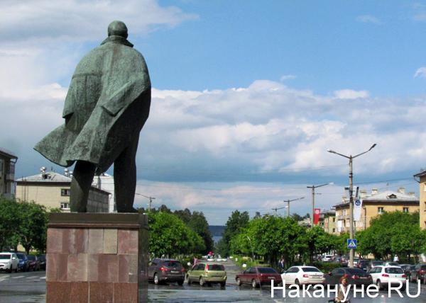 Снежинск, памятник Ленину Фото: Накануне.RU