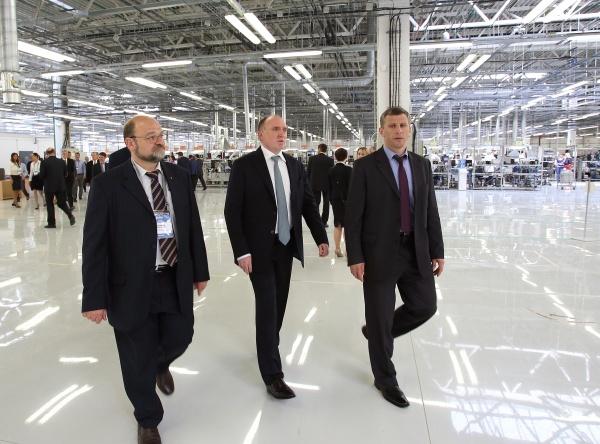 эмерсон, открытие, завод, инвестиции|Фото:пресс-служба губернатора челябинской области