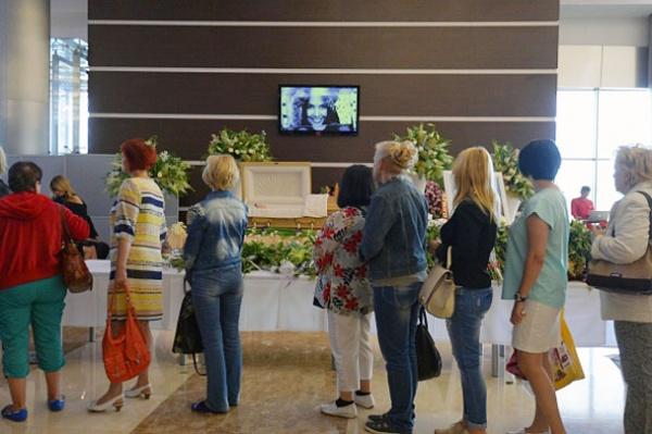 Жанна Фриске, прощание|Фото:vz.ru