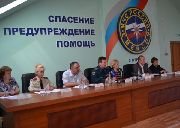 Паводковая конференция в Нижневартвоске|Фото: пресс-служба уральского регионального центра МЧС
