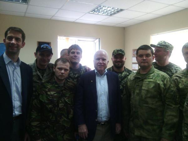 Джон Маккейн, днепр-1, каратели|Фото:twitter