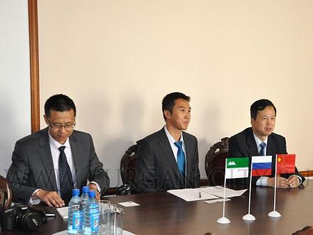 Генеральный консул Китайской народной Республики в Екатеринбурге Тянь Юнсан|Фото: администрация Кургана