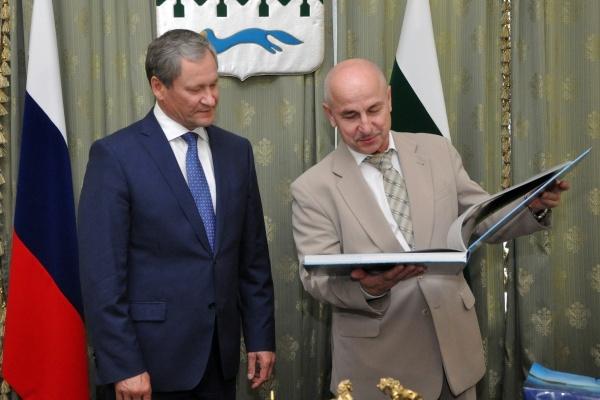 Алексей Кокорин Станислав Матук|Фото: пресс-служба губернатора Курганской области
