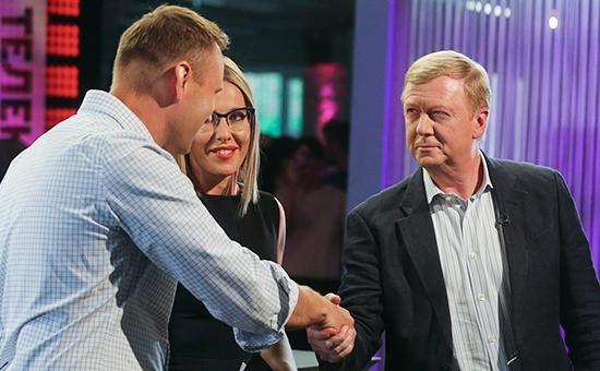 навальный, собчак, чубайс|Фото: rbc.ru