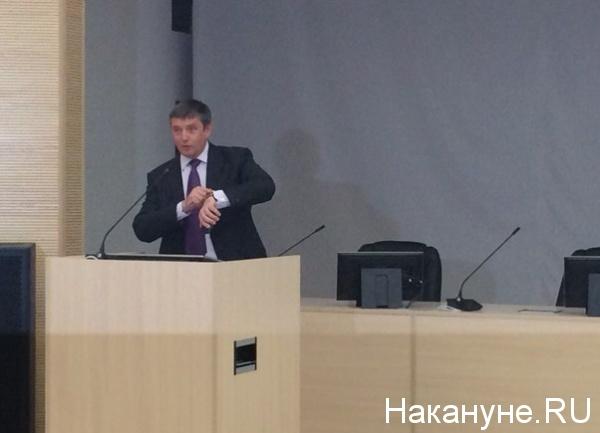Ректор УрФУ Виктор Кокшаров|Фото: Накануне.RU