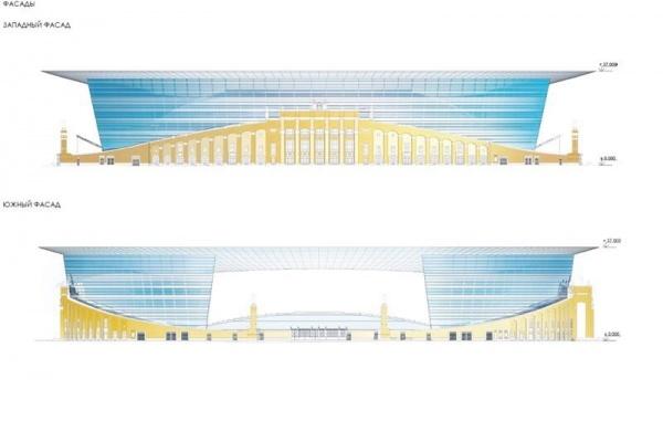 проект реконструкции Центрального стадиона|Фото:http://xn--2018-94d9anja5l.xn--p1ai/