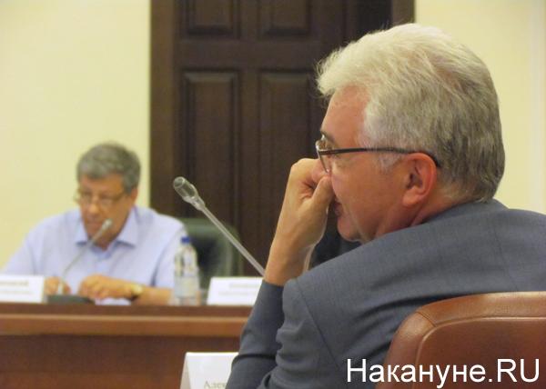 совещание по реформе МСУ, Александр Якоб, Аркадий Чернецкий|Фото: Накануне.RU